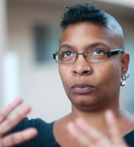 Nalo Hopkinson (photo: David Findlay, 2011)